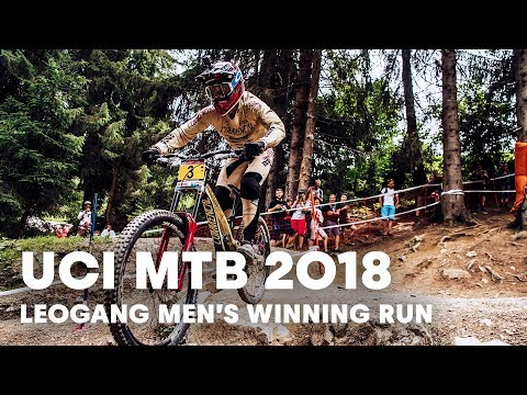 Who won the men's downhill MTB final at Leogang, Austria? | UCI MTB 2018