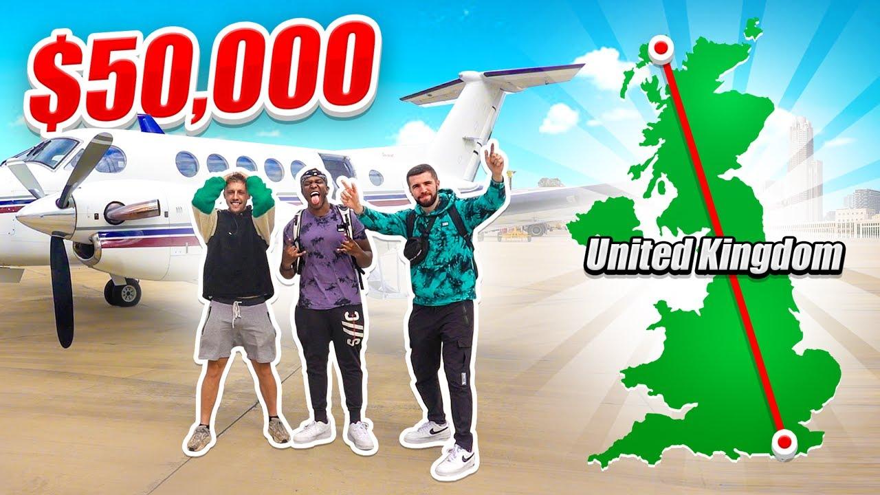 SIDEMEN $50,000 RACE ACROSS THE UK