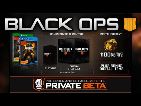 Black Ops 4 SPECIALIST EDITION - Call of Duty Limited Edition
