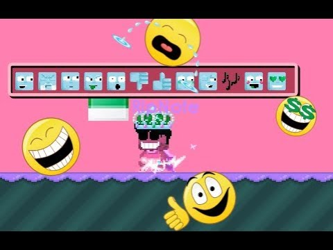 Growtopia | HOW TO USE EMOTICON (NEWS!!)