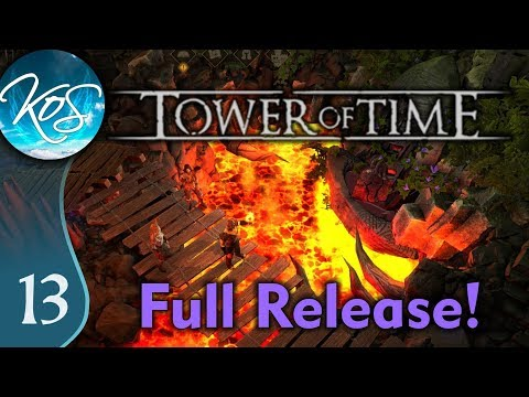 Tower Of Time Ep 13: DESCENDING THE TOWER - Full Release, Tactical RPG, Lore - Let's Play, Gameplay