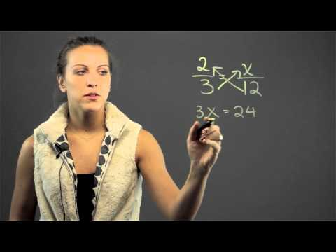 How to Solve Fractions & Proportions With Letters : Math Lessons & Tips