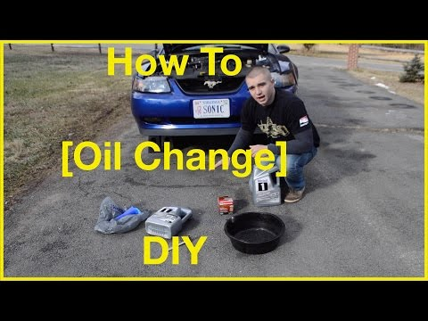 How To Change Your Car Oil DIY - Ford Mustang GT
