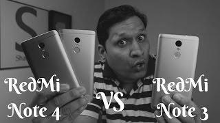 Massive Comparison RedMi Note 4 vs RedMi Note 3 | Sharmaji Technical