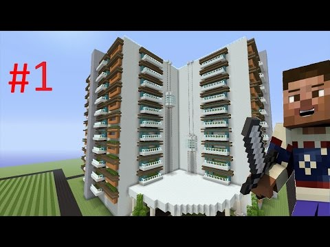 How to Build a Modern Hotel in Minecraft - Part 1