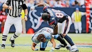 NFL Ejections Compilation   Part 1 (Fights, Cheap Shots, & More!)