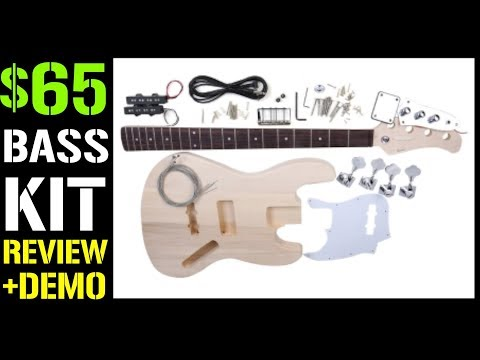 THE BEST BASS KIT for your FIRST BUILD (only $65)  Full Review + Demo