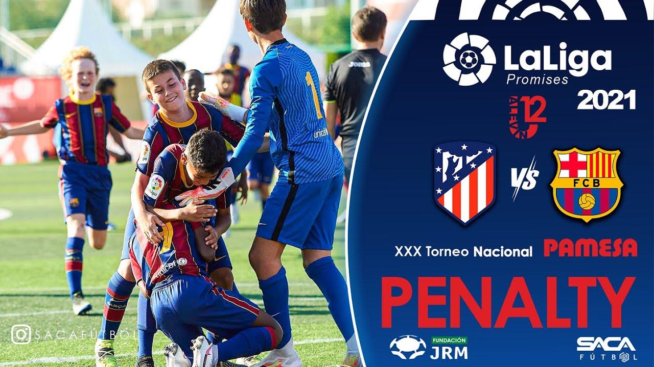 Penalty Atlético Madrid vs FC Barcelona | LaLiga Promises U12 2021