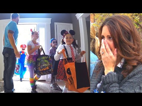 CHILD ABDUCTION ON HALLOWEEN to Trick or Treaters (Social Experiment)