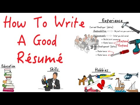 How to write a Résumé that stands out!