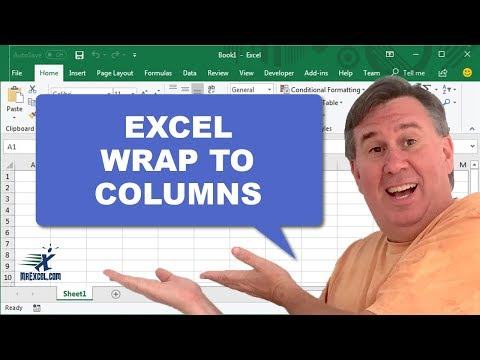 Learn Excel - Wrap to Columns - Podcast 2194