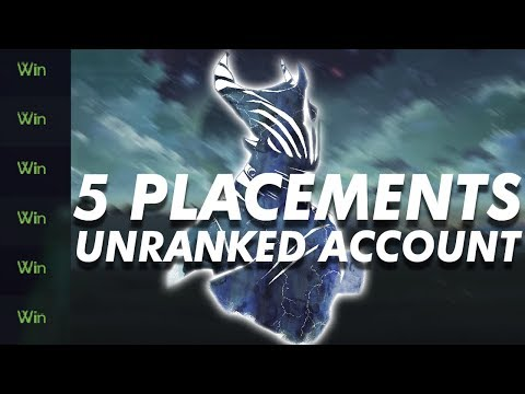 Winning my last 5 placements IN A ROW gets me placed in...WHAT?!?