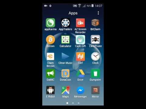 How to show and hide icons on Samsung Galaxy Core Prime (Jacob L)