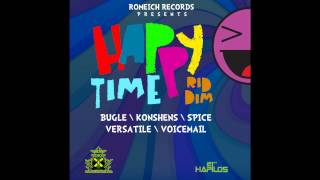 DJ Hollywood Happy Time Riddim Mix [ROMEICH RECORDS/MAY 2013]