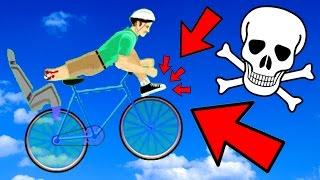 MORIRE ALLACCIANDOSI LE SCARPE!! - [Happy Wheels Ep.126]