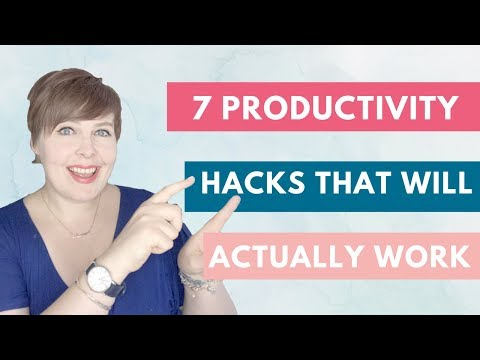 7 Productivity Hacks That ACTUALLY Work! | TIME MANAGEMENT | PRODUCTIVITY TIPS | MAKE TIME