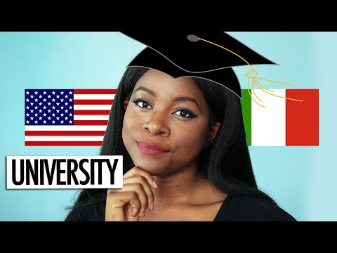 ITALY VS USA | UNIVERSITY (GRADING, CAMPUS LIFE + MORE)
