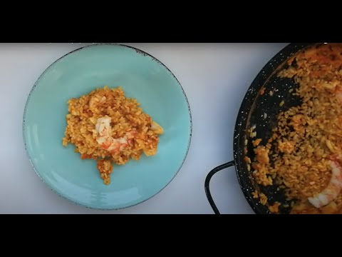 Quick and easy seafood paella