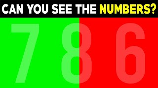 DO YOU SEE THE NUMBERS? (EYE TEST)
