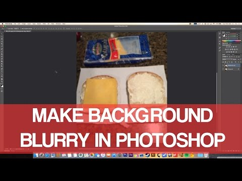 How To Blur Background In Photoshop CS6