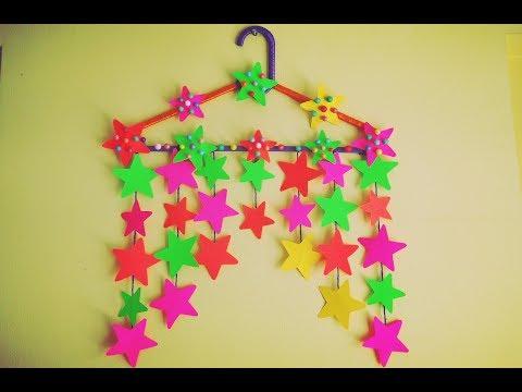 DIY Star Wall Hanging   Wall decoration   Summer craft