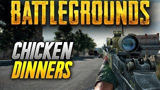Battlegrounds: CHICKEN DINNERS ALL ROUND! (Playerunknown
