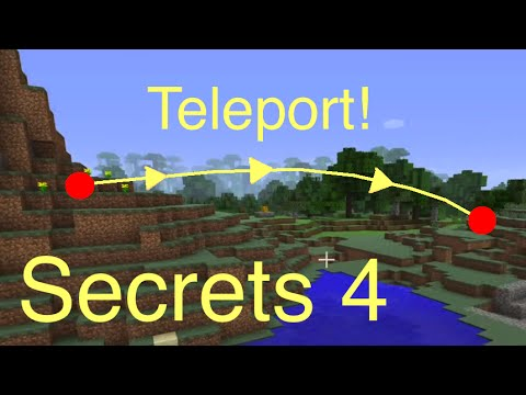 Minecraft: Secrets 4 - Teleporting (Ender Pearl and Killing Enderman): Tips for PS4