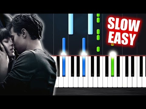 Ellie Goulding - Love Me Like You Do - SLOW EASY Piano Tutorial by PlutaX