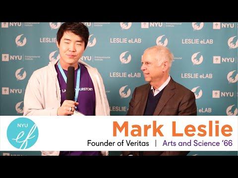 NYU Entrepreneurs Festival 2015 - Interview with Mark Leslie