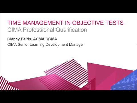Time management and exam technique in OTs