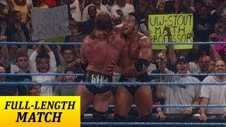 FULL-LENGTH MATCH: SmackDown - Triple H vs. The Rock - WWE Championship