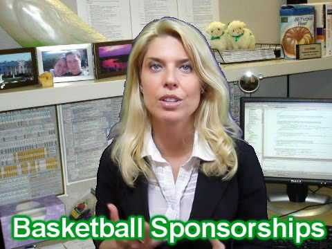 Basketball - sponsorships & sponsors to get you equipment and cash.