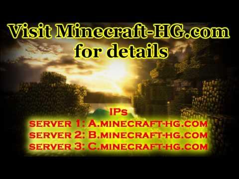 Minecraft - Hunger Games Servers! (24/7)