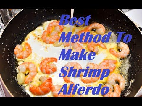 How to Make Shrimp Alfredo