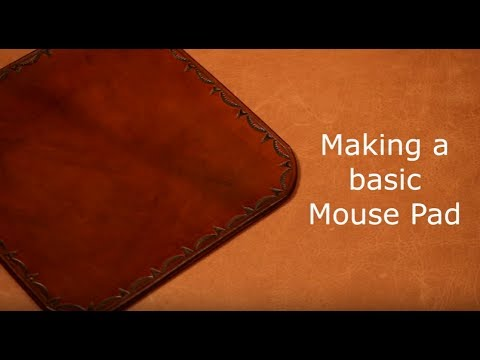 Basic Leather Mouse Pad Project