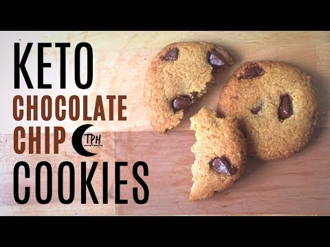 Keto Chewy Chocolate Chip Cookies | Low-Carb Chocolate Chip Cookie Recipe