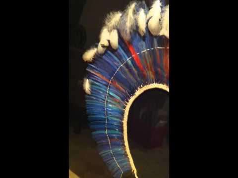 Amazon Native Headress South American Headdress Antique