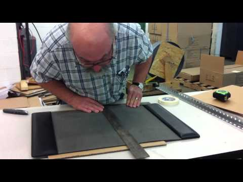 How to Cut Your Bosca Leather Desk Pad