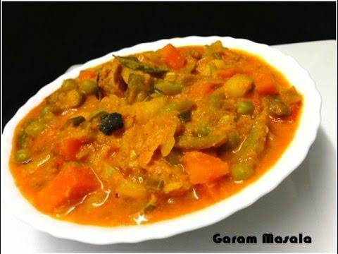 Vegetable Korma Kerala Style വെജിടബ്ൽ കുറുമ