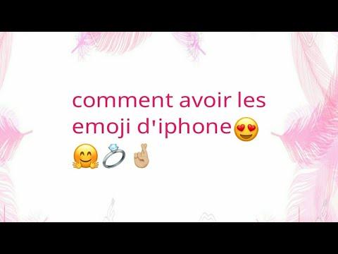 Comment avoir tout les emoji d'iphone ios 10.2