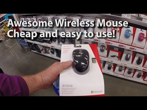Microsoft Wireless Mobile 3500 Mouse Review