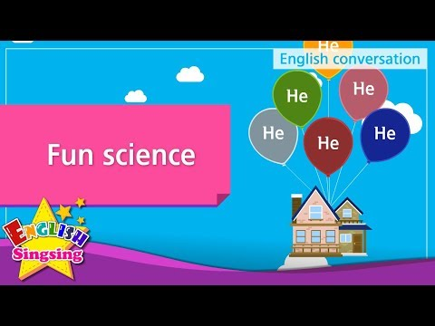 10. Fun science (English Dialogue) - Educational video for Kids