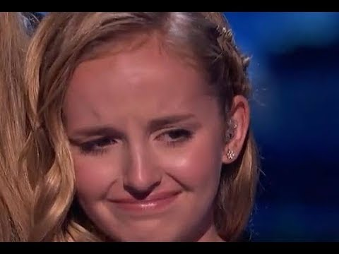 She Sings For Her Dead Farther... Don't Cry.. She Is Fighting To The End | America's Got Talent 2017
