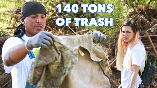 A Germophobe and Nature Lover Help Clean The Los Angeles River
