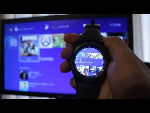 WHAT HAPPENS WHEN YOU CONNECT A SMARTWATCH TO A PS4?