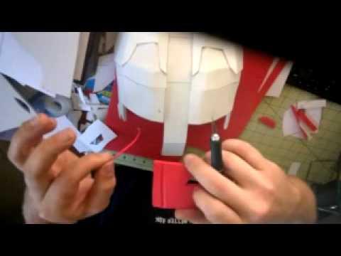 Craft foam helmet