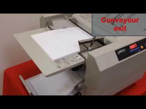 Galaxy FM500 A4 / A5 Paper folding machine