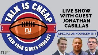 SPECIAL ANNOUNCEMENT: Live show of Giants podcast