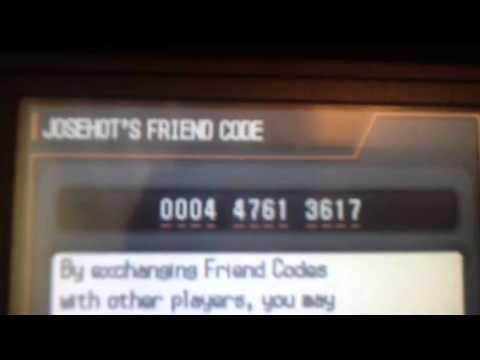 Pokemon Black 2 friend code