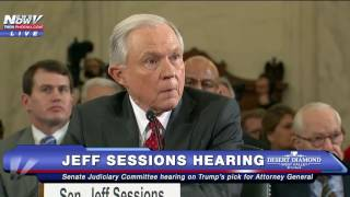 PART 2: Confirmation Hearing of Trump Attorney General Nominee Jeff Sessions - FNN